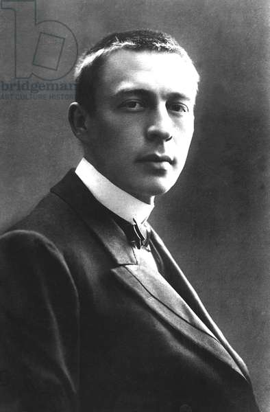 SERGEI RACHMANINOFF, (1873-1943) Russian composer and pianist, ca.1908