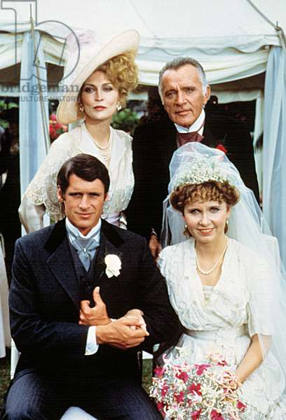 ELLIS ISLAND, Faye Dunaway, Richard Burton, Kate Burton, 1984