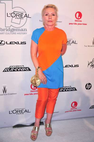Debbie Harry: Debbie Harry at arrivals for Project Runway 10th Anniversary Party, The High Line, New York, NY July 17, 2012. Photo By: Gregorio T. Binuya/Everett Collection
