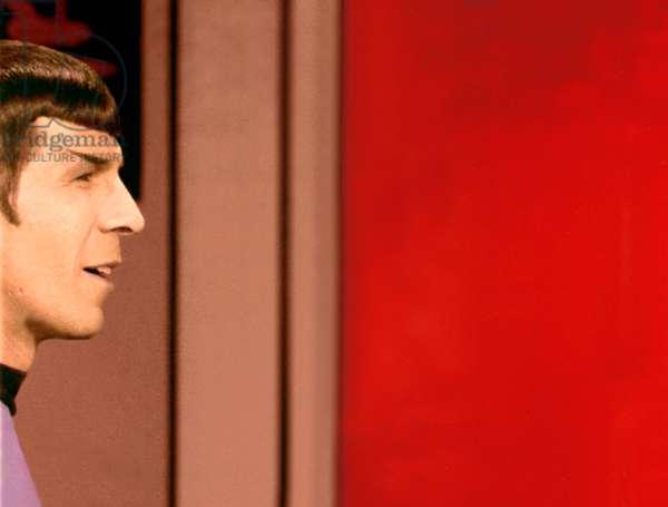 STAR TREK, blooper, Leonard Nimoy, 1966-1969.