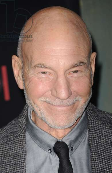 Patrick Stewart: Patrick Stewart at arrivals for THE HOBBIT: AN UNEXPECTED JOURNEY Premiere, The Ziegfeld Theatre, New York, NY December 6, 2012. Photo By: Kristin Callahan/Everett Collection