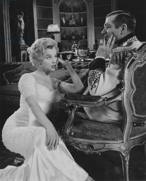 THE PRINCE AND THE SHOWGIRL, Marilyn Monroe and Laurence Olivier, 1956