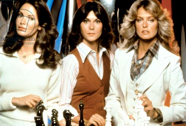 CHARLIE'S ANGELS, Jaclyn Smith, Kate Jackson, Farrah Fawcett, 1976-81
