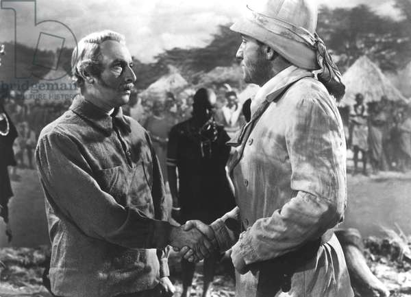 STANLEY AND LIVINGSTONE, Cedric Hardwicke, Spencer Tracy, 1939, TM and Copyright 20th Century Fox Film Corp. All rights reserved.