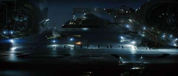 STAR TREK, the U.S.S. Enterprise, 2009. Ph: Industrial Light & Magic/©Paramount/courtesy Everett Collection