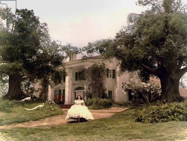Autant en emporte le vent: GONE WITH THE WIND, center foregound: Vivien Leigh, 1939