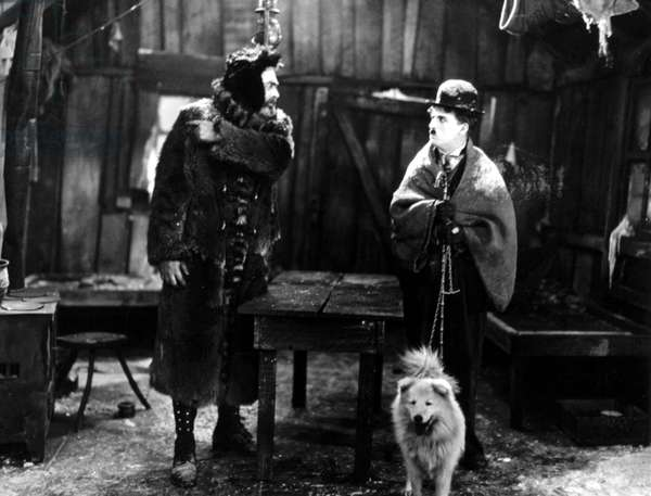 THE GOLD RUSH, Tom Murray, Charlie Chaplin, 1925