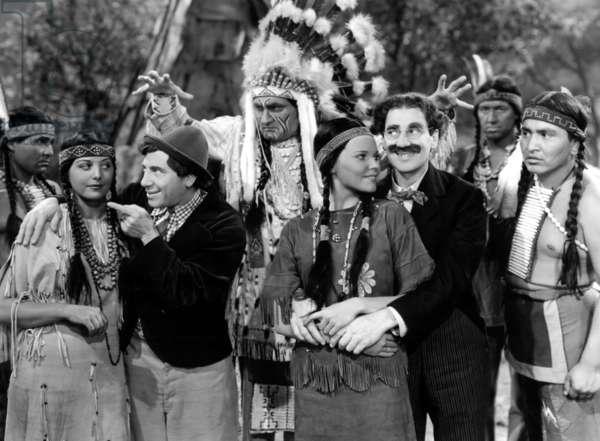 Chercheurs d'or: GO WEST, Chico Marx, Groucho Marx, 1940
