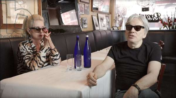 BAD REPUTATION, from left: Debbie Harry, Chris Stein, 2018. © Magnolia Pictures /Courtesy Everett Collection