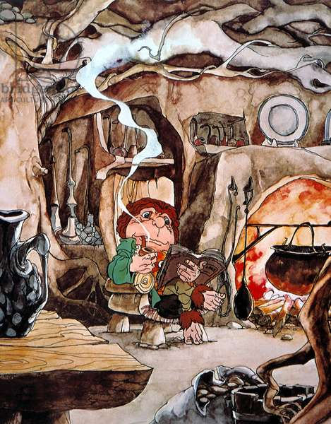 HOBBIT, THE, Bilbo Baggins, 1978.