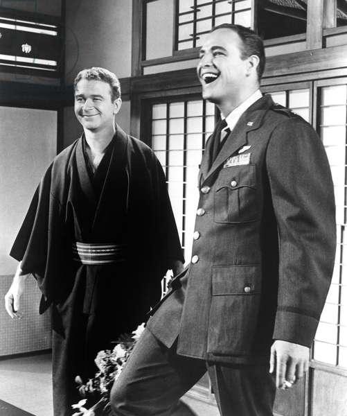 SAYONARA, Red Buttons, Marlon Brando, 1957
