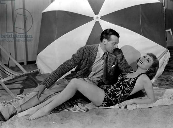 BLUEBEARD'S EIGHTH WIFE, Gary Cooper, Claudette Colbert, 1938