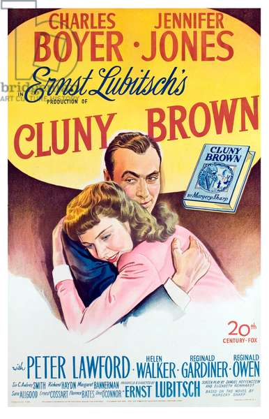La folle ingenue: CLUNY BROWN, Charles Boyer, Jennifer Jones, 1946.