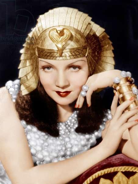 Cleopatre 1934: CLEOPATRA, Claudette Colbert, 1934