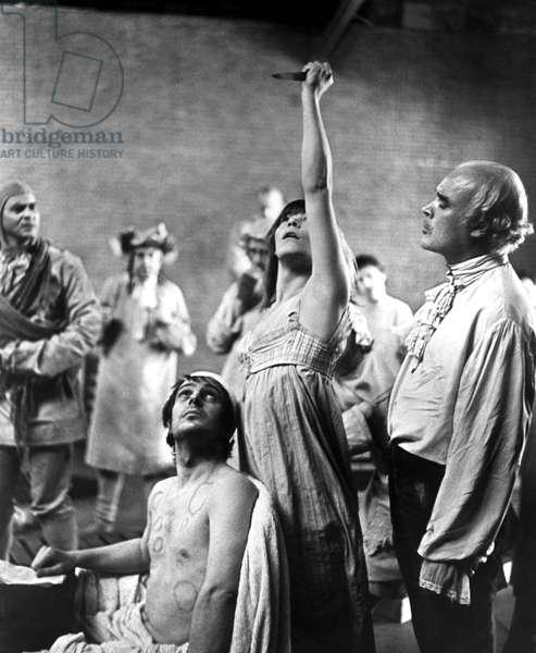 Marat Sade: MARAT/SADE, Ian Richardson, Glenda Jackson, Patrick Magee, 1967
