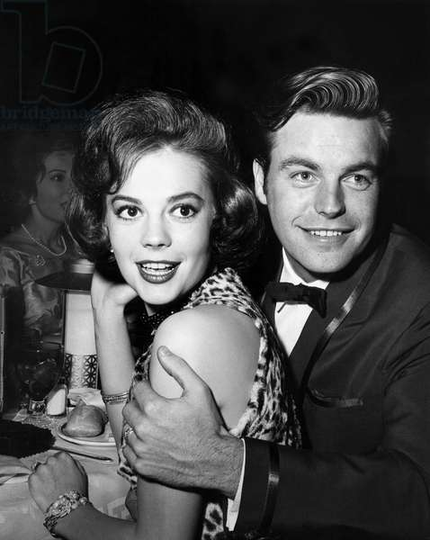 Natalie Wood and Robert Wagner, July 21, 1960