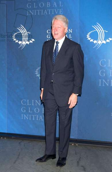 Bill Clinton at arrivals for Opening Night Reception - Third Annual Clinton Global Initiative Summit, The Museum of Modern Art (MoMA), New York, NY, September 26, 2007. Photo by: Kristin Callahan/Everett Collection