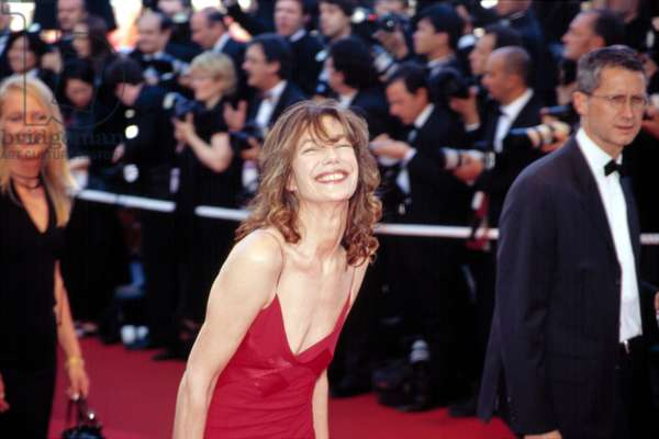 Jane Birkin at the Cannes Film Festival, 5/2002, by Thierry Carpico