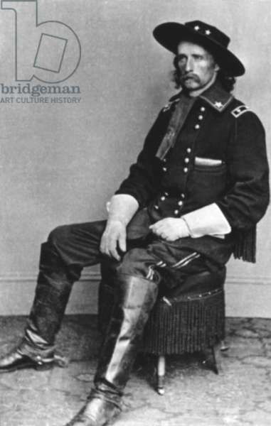 General George Armstrong Custer, during the Civil War (1860-65)
