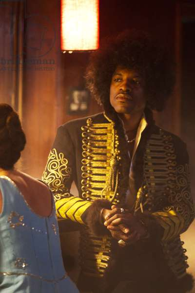 JIMI: ALL IS BY MY SIDE, Andre Benjamin, as Jimi Hendrix, 2013. ph: Patrick Redmond/©Open Road Films/courtesy Everett Collection