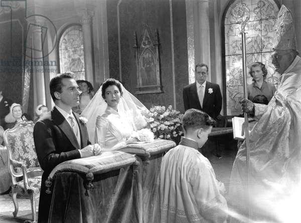 The Barefoot Contessa, Rossano Brazzi, Ava Gardner, Humphrey Bogart, 1954