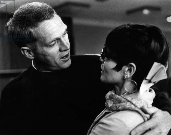 Steve McQueen et Neile Adams