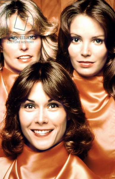CHARLIE'S ANGELS, Farrah Fawcett, Kate Jackson, Jaclyn Smith, 1976-81
