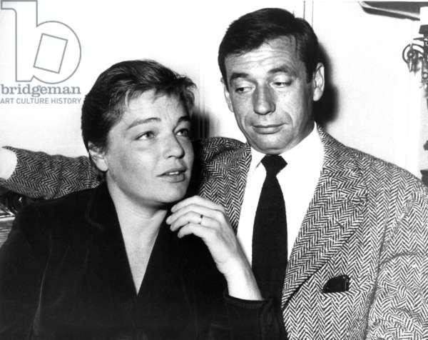Simone Signoret, Yves Montand, ca. 1950s