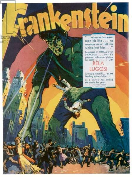 FRANKENSTEIN, 1931.
