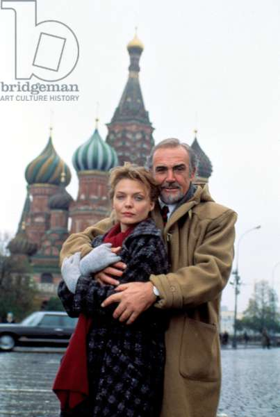 RUSSIA HOUSE, Michelle Pfeiffer, Sean Connery, 1990