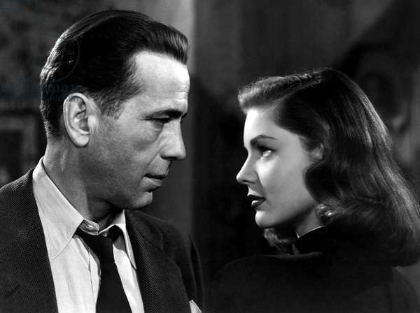 THE BIG SLEEP, Humphrey Bogart, Lauren Bacall, 1946