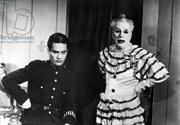 LIMELIGHT, Sydney Chaplin, Charlie Chaplin, 1952
