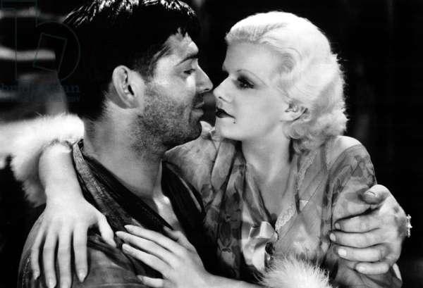 RED DUST, Clark Gable, Jean Harlow, 1932
