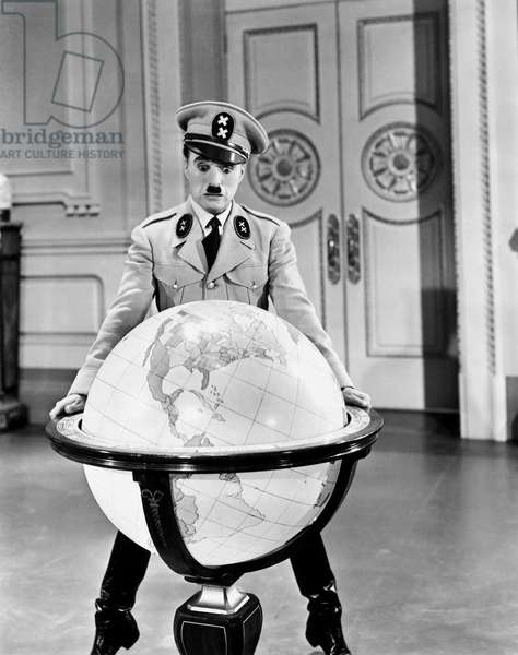 The great dictator, directed by Charlie Chaplin 1940