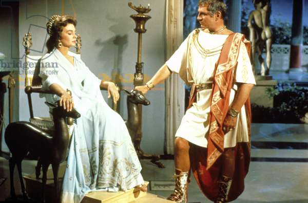 SPARTACUS, Jean Simmons, Laurence Olivier, 1960