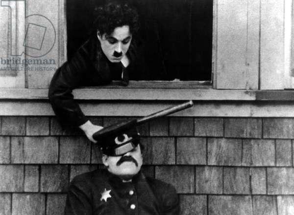 POLICE, Charlie Chaplin, 1916