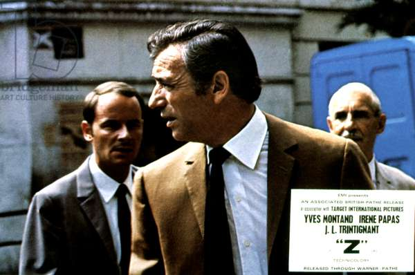 Z, Yves Montand, 1969