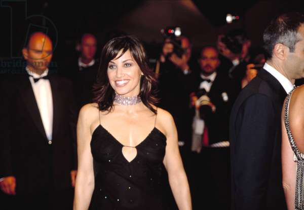 Gina Gershon at the Cannes Film Festival 5/2002, by Thierry Carpico.