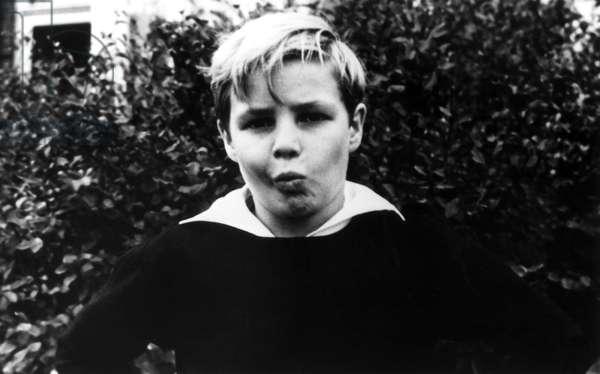 Marlon Brando, age 9