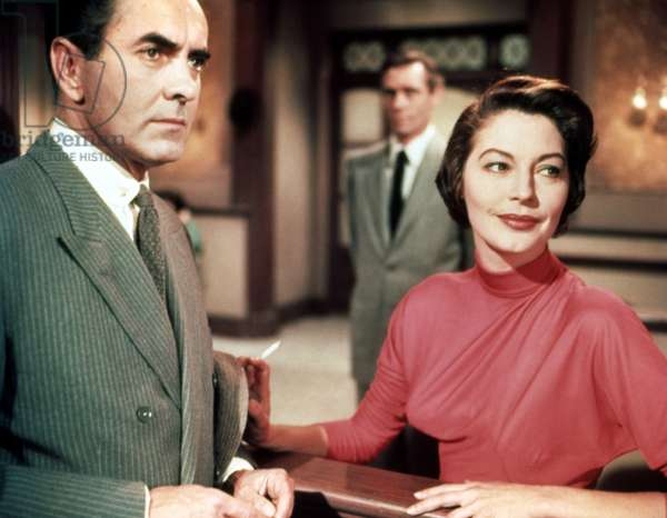THE SUN ALSO RISES, Tyrone Power, Mel Ferrer, Ava Gardner, 1957. TM & copyright ©20th Century Fox Film Corp. All rights reserved/courtesy Everett Collection