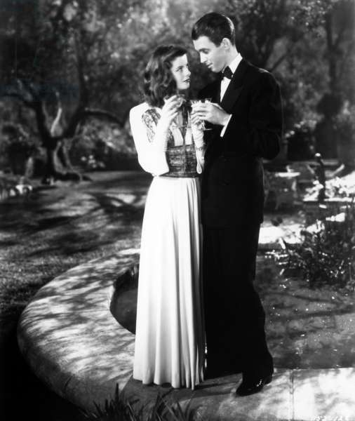 Indiscretions: THE PHILADELPHIA STORY, Katharine Hepburn, James Stewart, 1940.