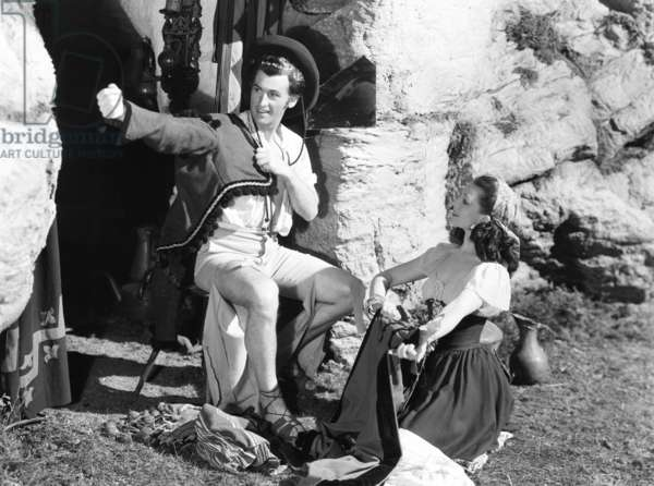 CARAVAN, from left: Stewart Granger, Jean Kent, 1946 (b/w photo)