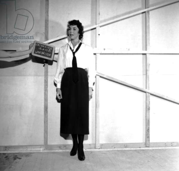Jennifer Jones: A FAREWELL TO ARMS, Jennifer Jones, wardrobe test, 1957, TM and Copyright ©20th Century Fox Film Corp. All rights reserved. Courtesy: Everett Collection.