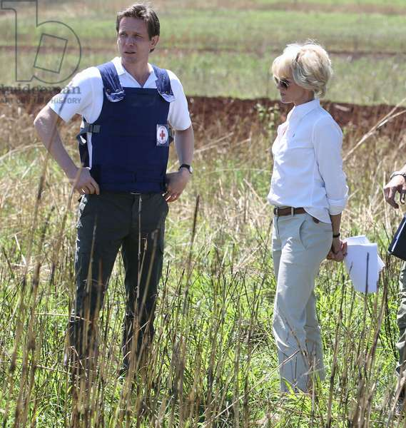 Diana: DIANA, from left: Charles Edwards, Naomi Watts as Princess Diana, 2013. ph: Laurie Sparham/©Entertainment One/courtesy Everett Collection