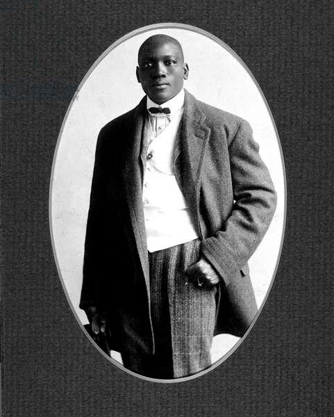 UNFORGIVABLE BLACKNESS: THE RISE AND FALL OF JACK JOHNSON, Jack Johnson c. 1900, 2004, (c) Florentine Films/courtesy Everett Collection