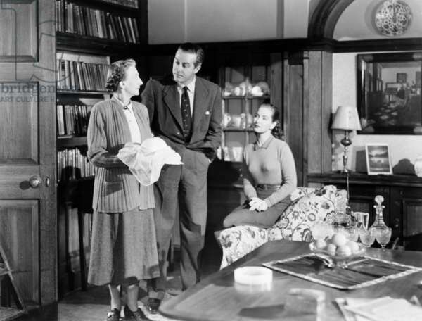 CIRCLE OF DANGER, from left: Marjorie Fielding, Ray Milland, Patricia Roc, 1951 (b/w photo)