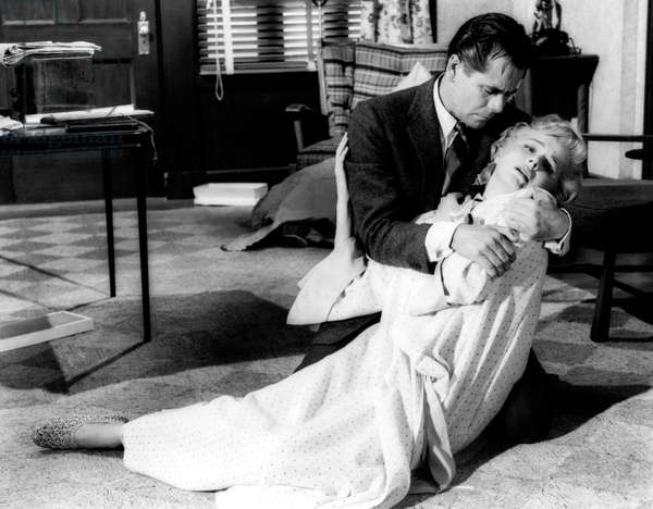 INTERRUPTED MELODY, from left: Glenn Ford, Eleanor Parker, 1955