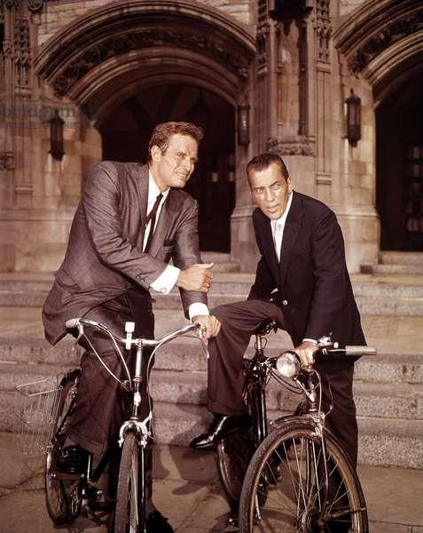THE ED SULLIVAN SHOW, Charlton Heston, Ed Sullivan, 1948-1971
