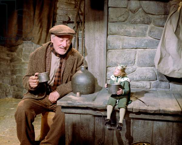 DARBY O'GILL AND THE LITTLE PEOPLE, Albert Sharpe, Jimmy O'Dea, 1959.