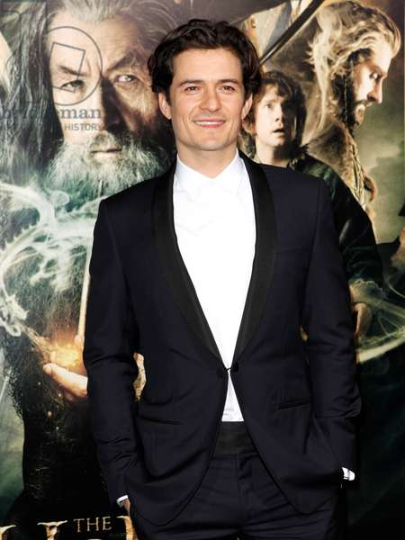 Orlando Bloom at arrivals for THE HOBBIT: THE DESOLATION OF SMAUG Premiere, Dolby Theater, Los Angeles, CA December 2, 2013. Photo By: Emiley Schweich/Everett Collection